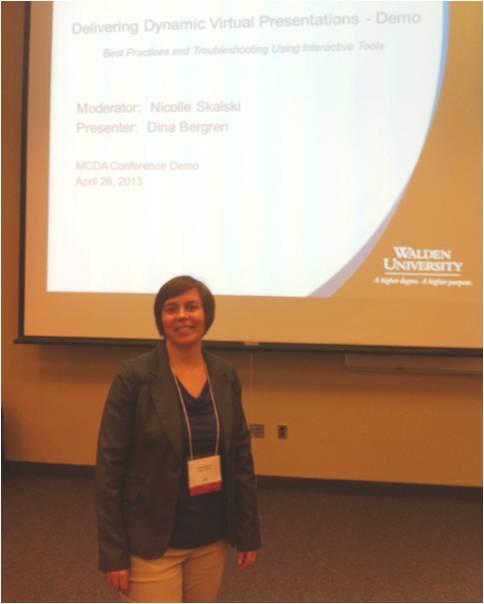 MCDA Conference 2013 - Nicolle Skalski