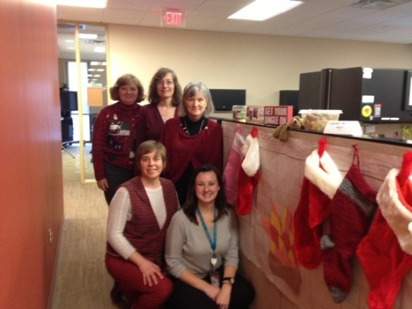 Happy Holidays and Best Wishes for a Wonderful 2014 from the Career Services Team!